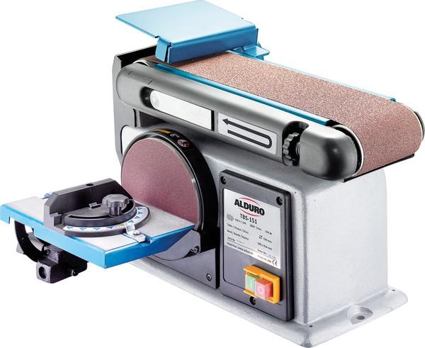 band tellerschleifmaschine tbs 151 alduro allchemet metallbearbeitung elektrowerkzeuge. Black Bedroom Furniture Sets. Home Design Ideas