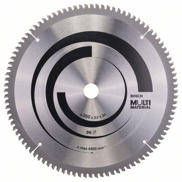 Kreissägeblatt Multi Material, 350 x 30 x 3,2 mm, 96