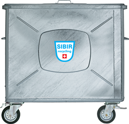 Stahlcontainer Sibir 800 Liter