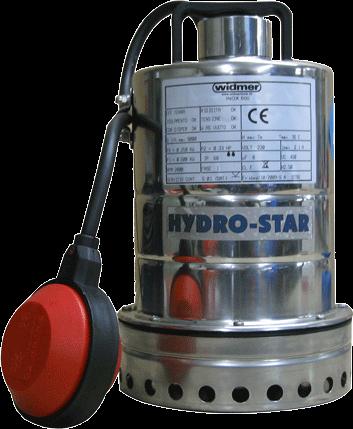 Klarwasser-Tauchpumpe HYDRO-STAR INOX 500