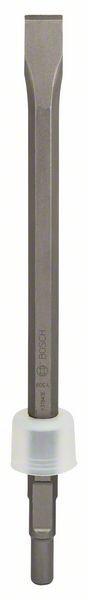 Flachmeißel mit 19-mm-Sechskantaufnahme mit abgedrehtem Bund, 400 x 22 mm