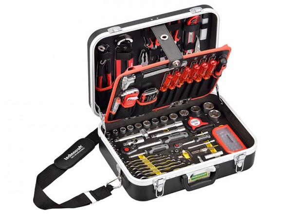 """ABS Werkzeugkoffer, 147-tlg., """"red line"""", """"PB Swiss Tools"""" """"technocraft"""" Allchemet"""