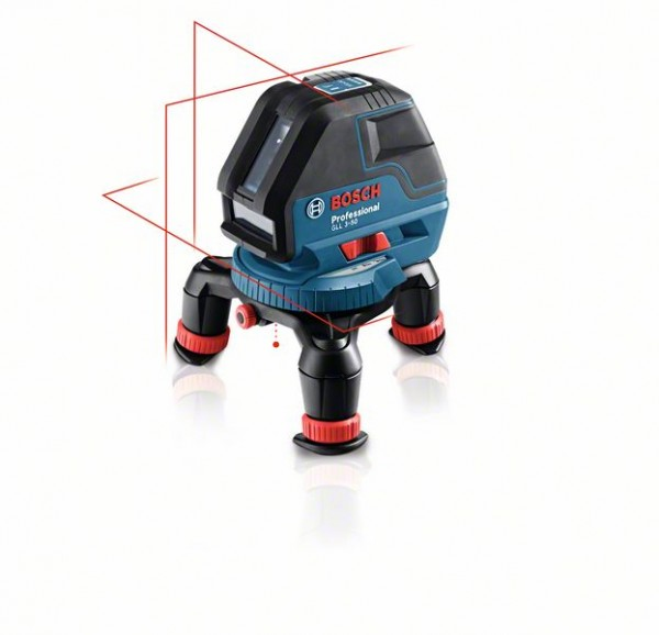 Bosch Linienlaser GLL 3-50, mit Laser-Empfänger LR2, Universalhalterung BM1, L-BOXX