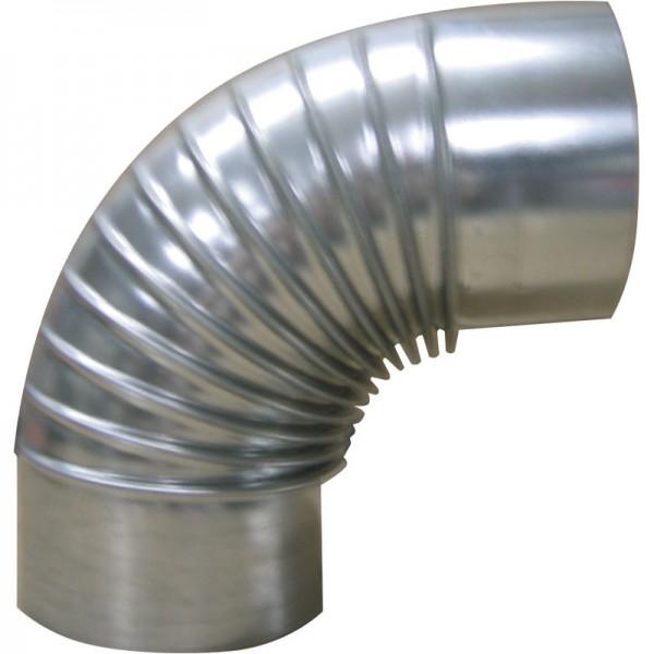 Kaminrohr-Bogenstück 90° Widmer Ø 150 mm