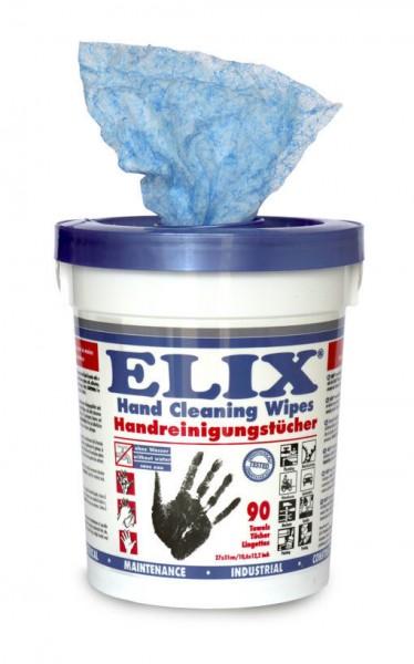 ELIX Handreinigungstücher - 4 x Eimer à 90 Tücher