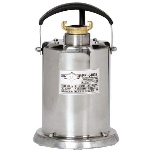 Flachsaugwasserpumpe toolair PFI-8400C