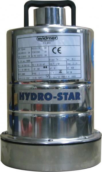 Klarwasser-Flachsauger HYDRO-STAR Inox 41 E