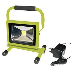 Akku-LED Baustrahler Steffen 20 Watt Worklight