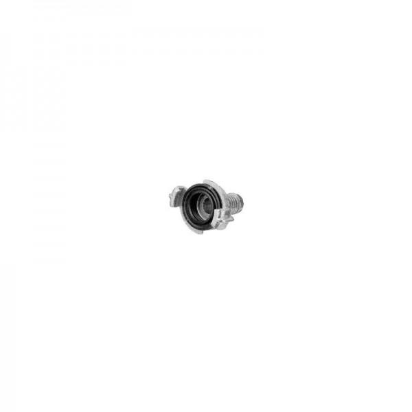 Schnellkupplung Geka mit Schlauchstutzen Widmer 25 mm