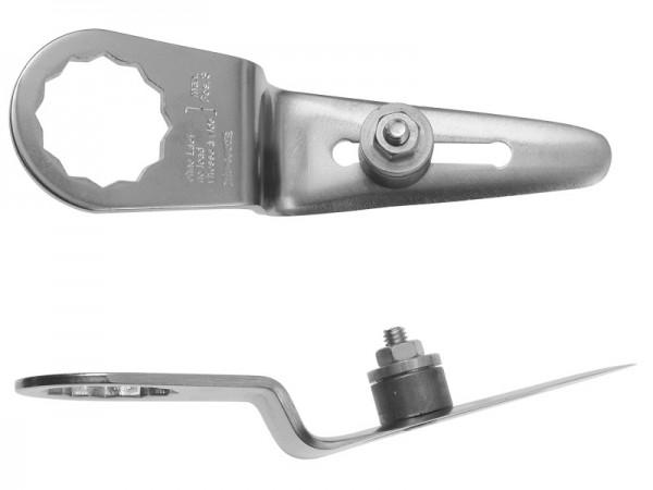 FEIN Messer 2er Pack Gerade Form Schneidenlänge 16-43 mm, Gesamtlänge 100 mm