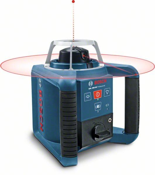 Bosch Rotationslaser GRL 300 HV, mit RC 1, WM 4 und LR 1