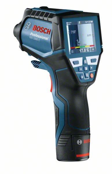 Bosch Thermodetektor GIS 1000 C, mit 2 x 1,5 Ah Li-Ion Akku, L-BOXX