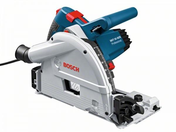 Bosch Tauchsäge GKT 55 GCE: 1x Kreissägeblatt, 1/1 L-BOXX-Einlage, L-BOXX374N