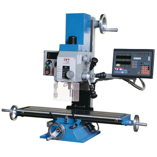 Bohr-Fräsmaschine stufenlos JET PROMAC FX-820VA-DRO