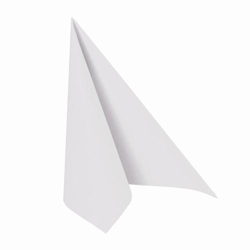 Servietten Airlaid weiss 40 x 40 cm, 1/4 Falz