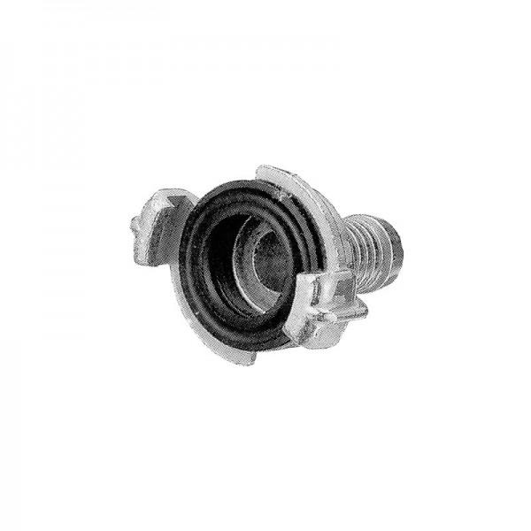 Schnellkupplung Geka mit Schlauchstutzen Widmer 32 mm