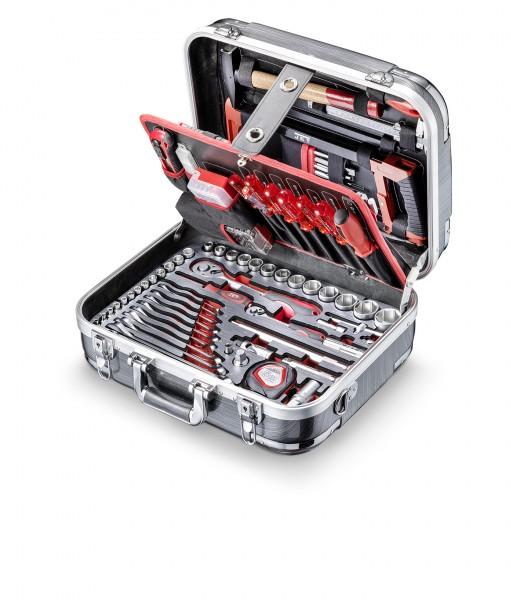"""Werkzeugkoffer ABS JET 1/4"""" und 1/2"""", 179-teilig, A-179-EXE"""