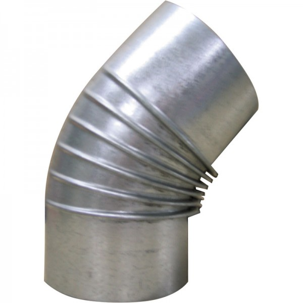 Kaminrohr-Bogenstück 45° Widmer Ø 200 mm