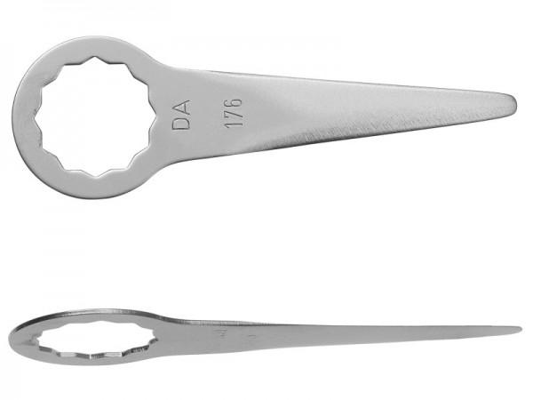 FEIN Messer 2er Pack Gerade Form Schneidenlänge 40 mm, Gesamtlänge 90 mm