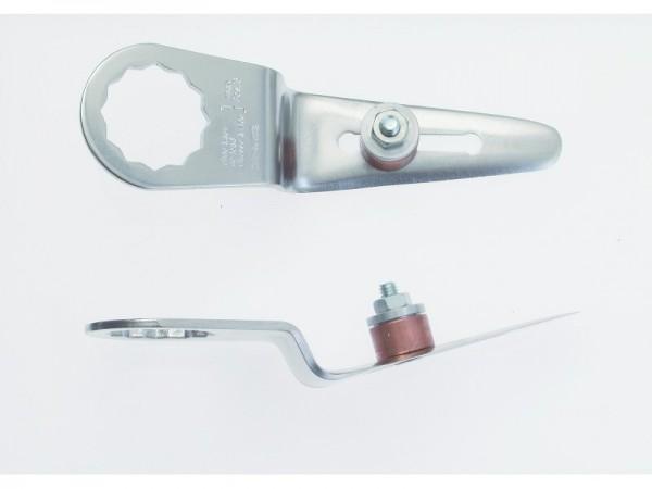 FEIN Messer 2er Pack Gerade Form Schneidenlänge 60-76 mm, Gesamtlänge 120 mm