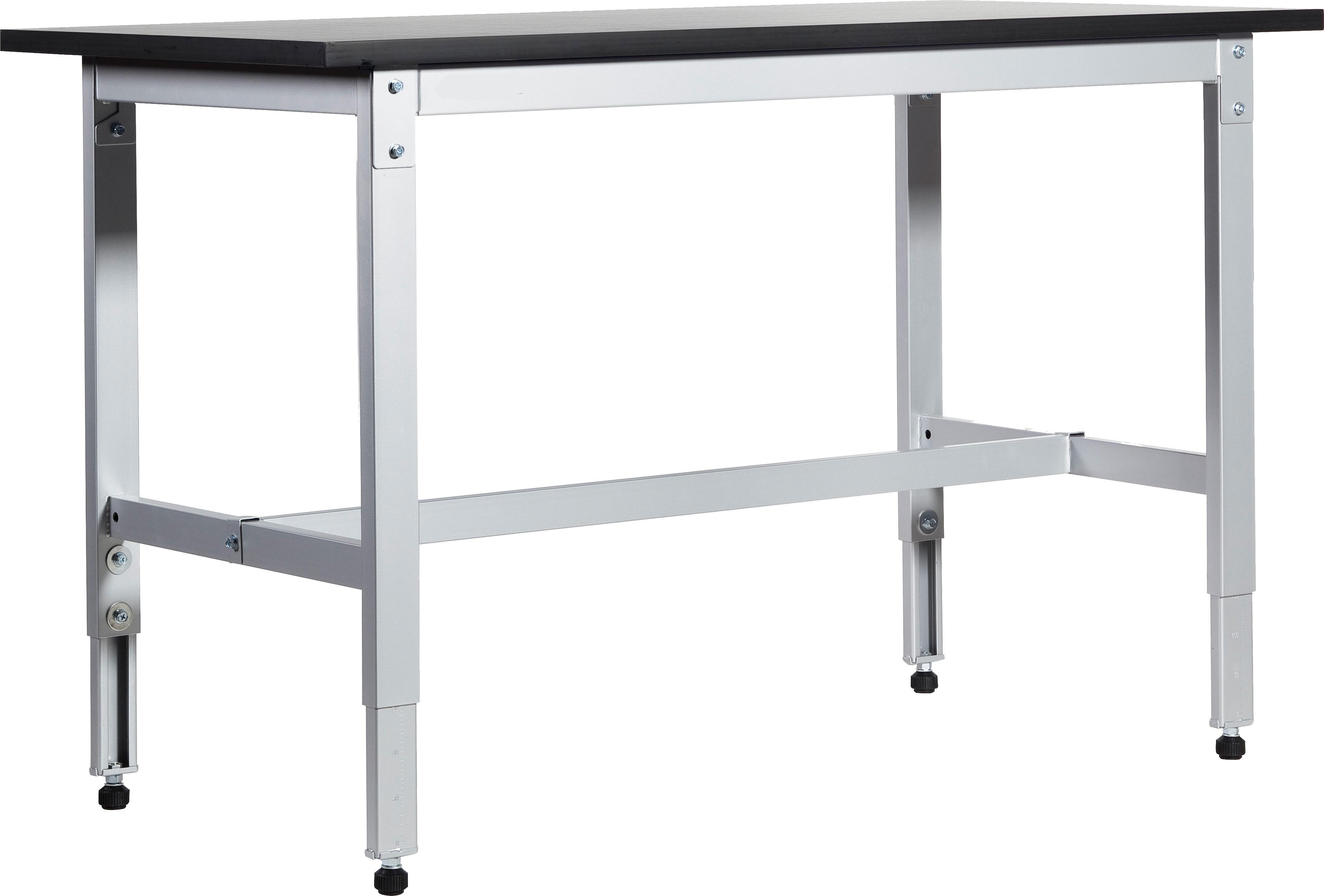 arbeitstisch höhenverstellbar 800 - 1000 mm widmer 951120   werkbank