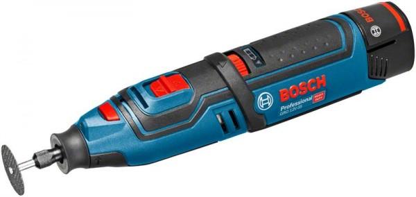 Bosch Akku-Rotationswerkzeug GRO 12V-35, mit 2 x 2.0 Ah Li-Ion Akku, L-BOXX