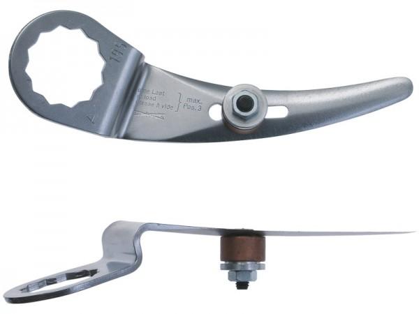 FEIN Messer 2er Pack Geschwungene Form Schneidenlänge 32-46 mm, Gesamtlänge 110 mm