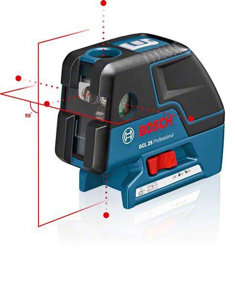 Bosch Kombilaser GCL 25, mit Schutztasche und Baustativ BT 150