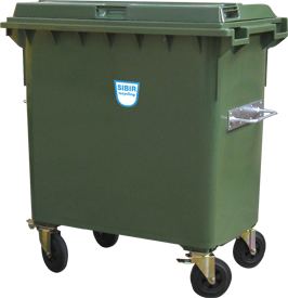 Kunststoffcontainer Sibir 770 Liter