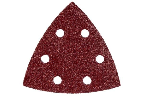 5 Haftschleifblätter 93x93 mm,P 60,H+M,DS