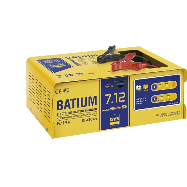 Batterie-Ladegerät GYS BATIUM-7-12