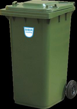 Kunststoffcontainer Sibir 240 Liter