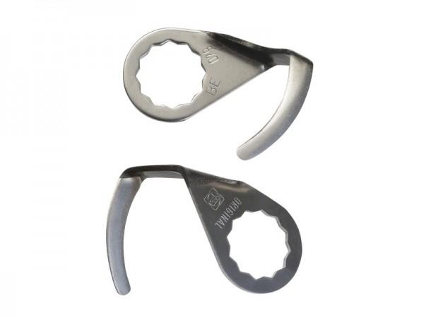 FEIN Messer 2er Pack U-Form Schneidenlänge 36 mm