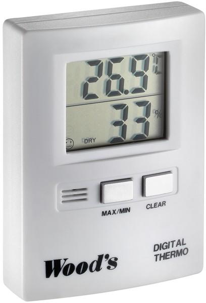 """Thermo-/Hygrometer, zu Luftentfeuchter """"WOOD'S"""" Allchemet"""