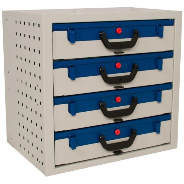 Kofferschrank Widmer LK 54.4 Set inkl. 4 x OK 66.23